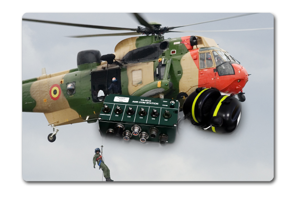 Peryphon Development Noise reduction for air rescue units