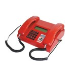 IP-120 dual handset desktop military telephone