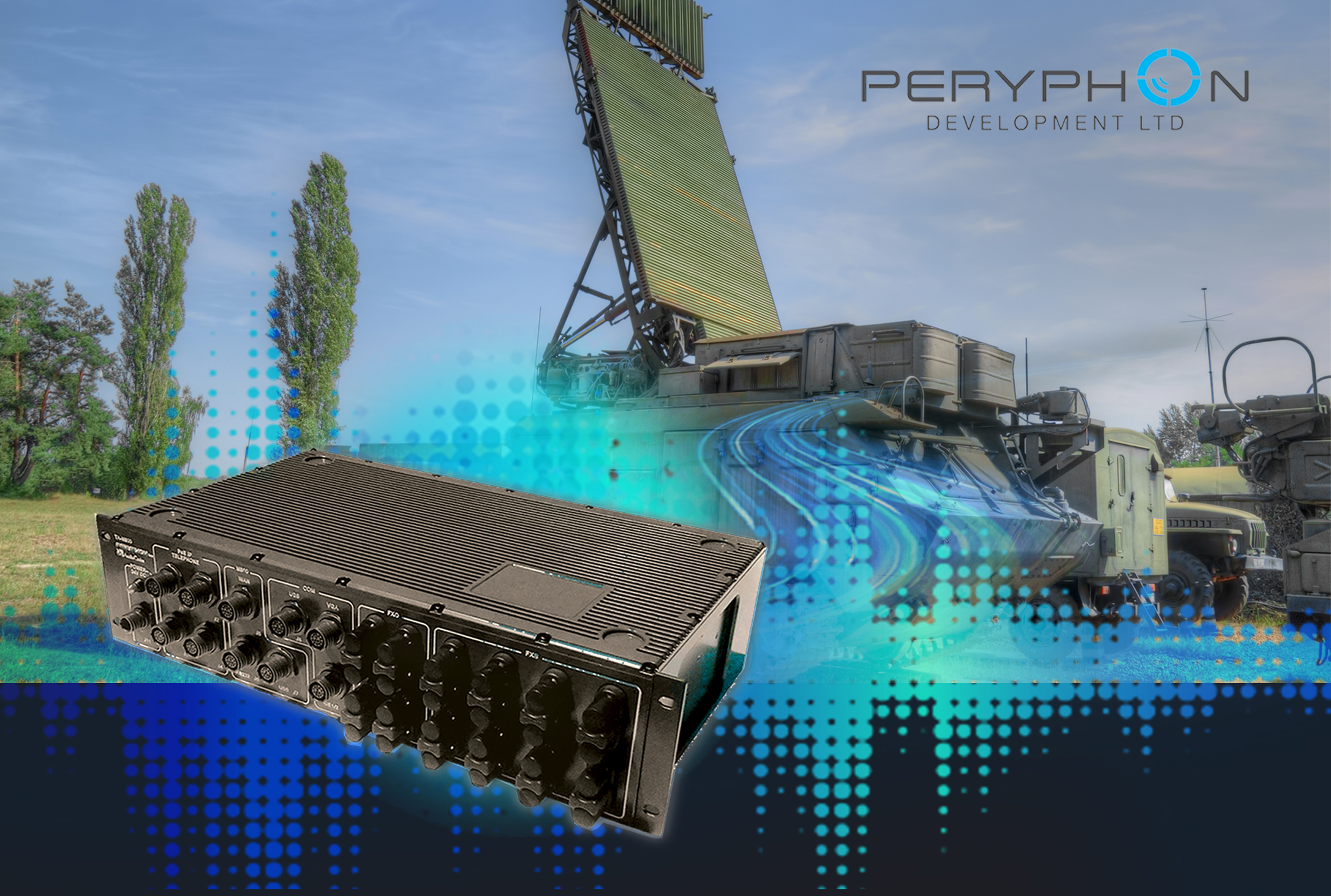 Peryphon Development has recently been awarded a contract to supply tactical communications device - military modems, rugged field phones, routers and military exchanges - to the Israeli Defense Forces (IDF).
